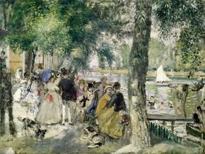 Bathing on the Seine (La Grenouillere) , 1869 by Pierre-Auguste Renoir
