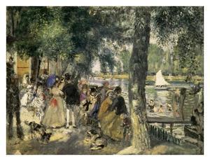 Bathing on the Seine by Pierre-Auguste Renoir