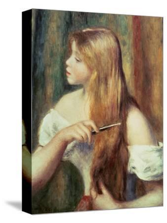 Blonde Girl Combing Her Hair, 1894