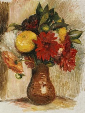 Bouquet de Fleurs au Pichet de Terre by Pierre-Auguste Renoir
