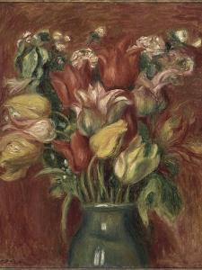 Bouquet de tulipes by Pierre-Auguste Renoir