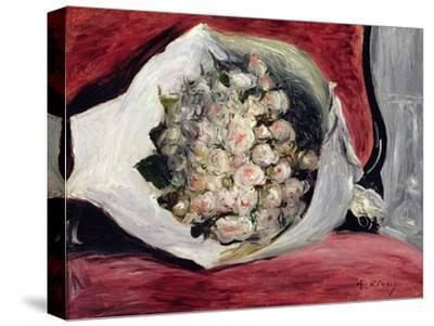 Bouquet in a Theatre Box, C.1878-80