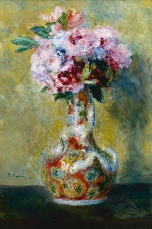 Bouquet in a Vase, 1878 by Pierre-Auguste Renoir