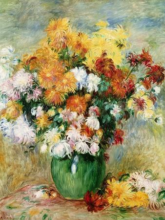 Bouquet of Chrysanthemums, circa 1884