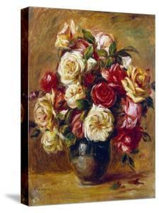 Bouquet of Roses, C1909 by Pierre-Auguste Renoir