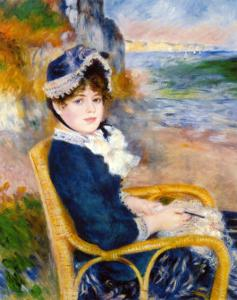By the Sea Shore by Pierre-Auguste Renoir