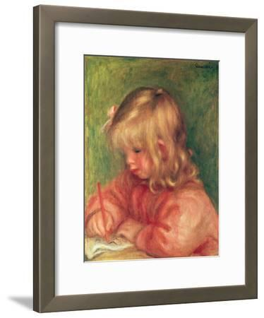 Child Drawing, 1905