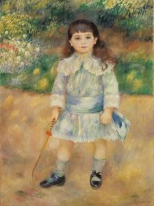 Child with Whip, 1885 by Pierre-Auguste Renoir