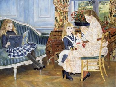 Children's Afternoon at Wargemont, 1884 by Pierre-Auguste Renoir