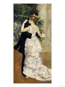 City Dance, c.1883 by Pierre-Auguste Renoir