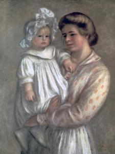 Claude and Renee, 1904 by Pierre-Auguste Renoir