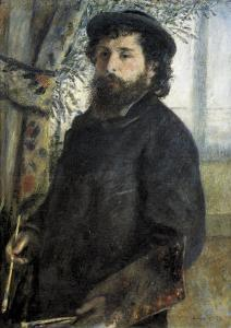 Claude Monet by Pierre-Auguste Renoir