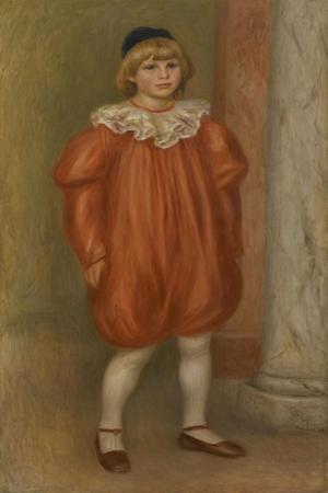 Claude Renoir in Clown Costume, 1909 by Pierre-Auguste Renoir
