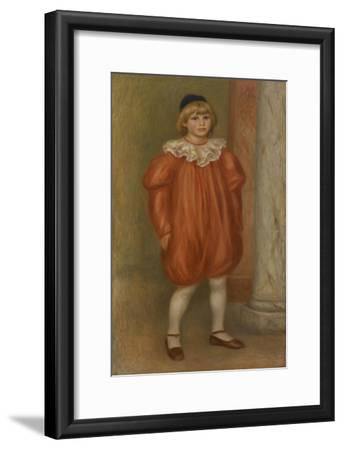 Claude Renoir in Clown Costume, 1909