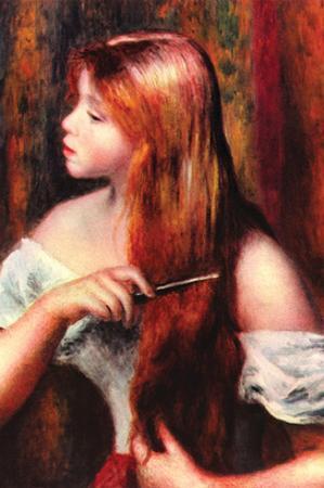Combing Girl
