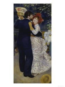 Country Dance, c.1883 by Pierre-Auguste Renoir