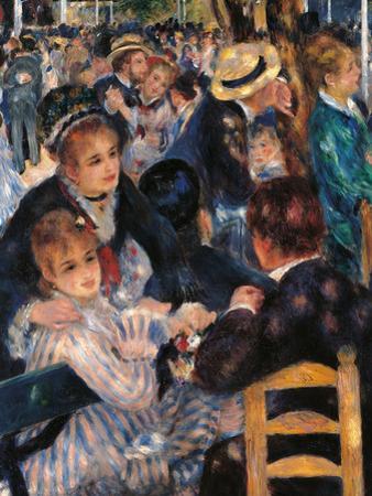 Dance at the Moulin De La Galette by Pierre-Auguste Renoir