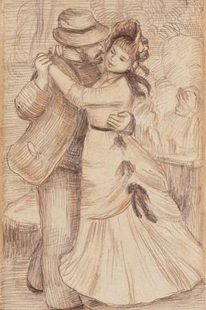 Dance in the Country, 1883 by Pierre-Auguste Renoir