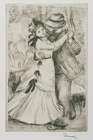 Dancing Couple, C.1880 by Pierre-Auguste Renoir