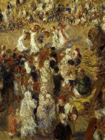 Dancing, from La Mosquée, Ou Fête Arabe, the Mosque or Arab Festival, 1881, Detail by Pierre-Auguste Renoir