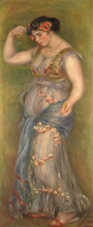 Dancing Girl with Castanets, 1909 by Pierre-Auguste Renoir