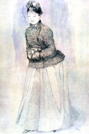 Female Figure, 20th Century by Pierre-Auguste Renoir