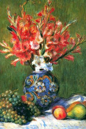 Flowers and Fruit by Pierre-Auguste Renoir