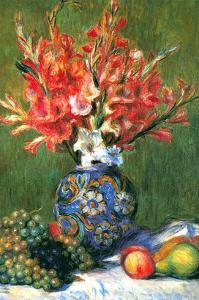 Flowers and Fruit by Pierre-Auguste Renoir