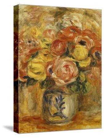 Flowers in a Blue and White Vase; Fleurs Dans Un Vase Bleu et Blanc, 1915