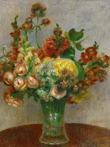 Flowers in a Vase, 1898 by Pierre-Auguste Renoir