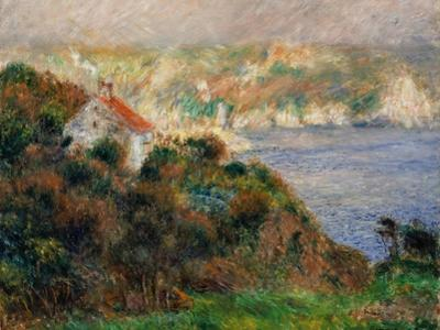 Fog on Guernsey, 1883 by Pierre-Auguste Renoir