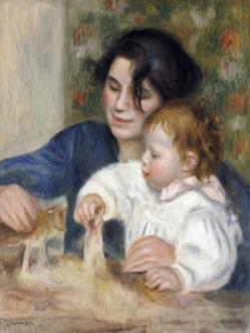 Gabrielle and Jean by Pierre-Auguste Renoir