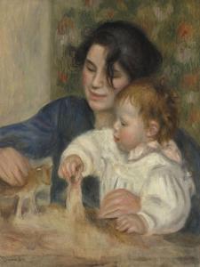 Gabrielle et Jean by Pierre-Auguste Renoir