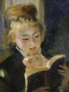 Girl Reading, c.1874 by Pierre-Auguste Renoir