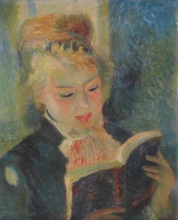 Girl Reading, La Liseuse