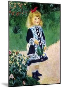 Girl with a Watering Can by Pierre-Auguste Renoir