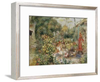 Girls in a Garden in Montmartre; Fillettes Dans Un Jardin a Montmartre, C.1893-5