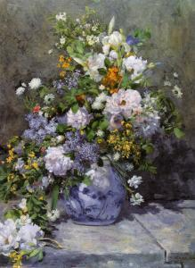 Grande Vaso di Fiori by Pierre-Auguste Renoir