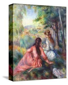 In the Meadow by Pierre-Auguste Renoir