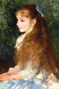 Irene Cahen D Anvers by Pierre-Auguste Renoir