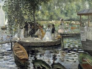 La Grenouillere, 1869 by Pierre-Auguste Renoir