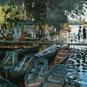 La Grenouillère by Pierre-Auguste Renoir