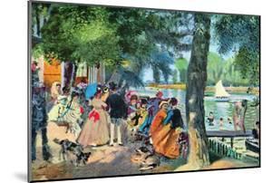 La Grenouillere by Pierre-Auguste Renoir