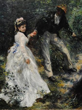 La Promenade, 1870