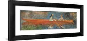 La Senna a Asniers (detail) by Pierre-Auguste Renoir