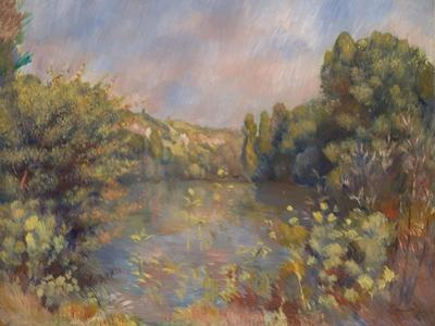 Lakeside Landscape, C. 1889
