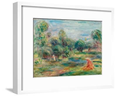Landscape at Cagnes, C. 1907-1908