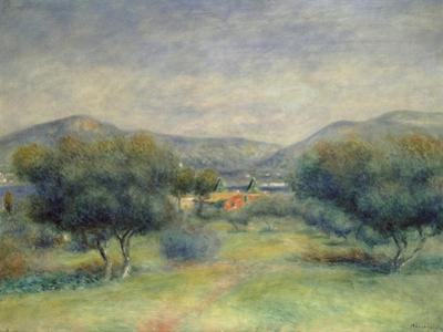 Landschaft Bei Toulons by Pierre-Auguste Renoir