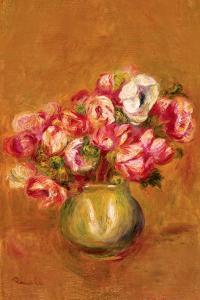 Large Anemones by Pierre-Auguste Renoir