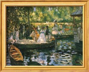 Le Grenouillere by Pierre-Auguste Renoir